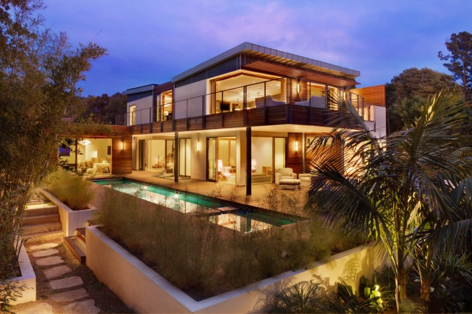 A Montecito, California, LEED certified (Platinum) home is unquestionably one of the most energy efficient residences in the area. And is also one of the most beautiful, modern, yet comfortable homes with that distinction.