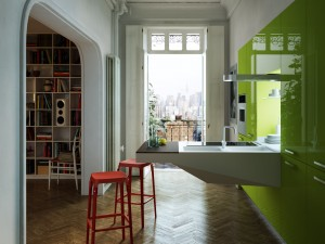 SNAIDERO_Appartamento board verde