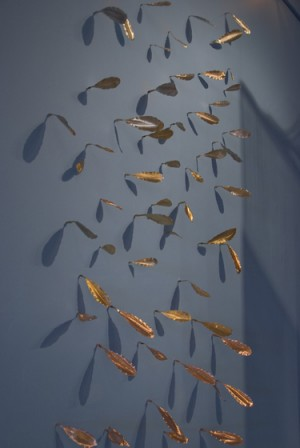 Wall of Copper Leaves 2